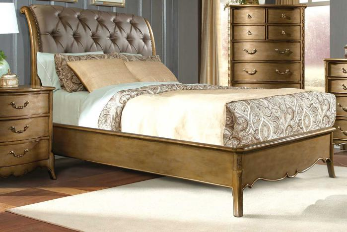 gold bedroom ideas