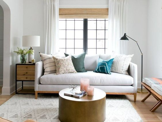 Living Room with Small Window