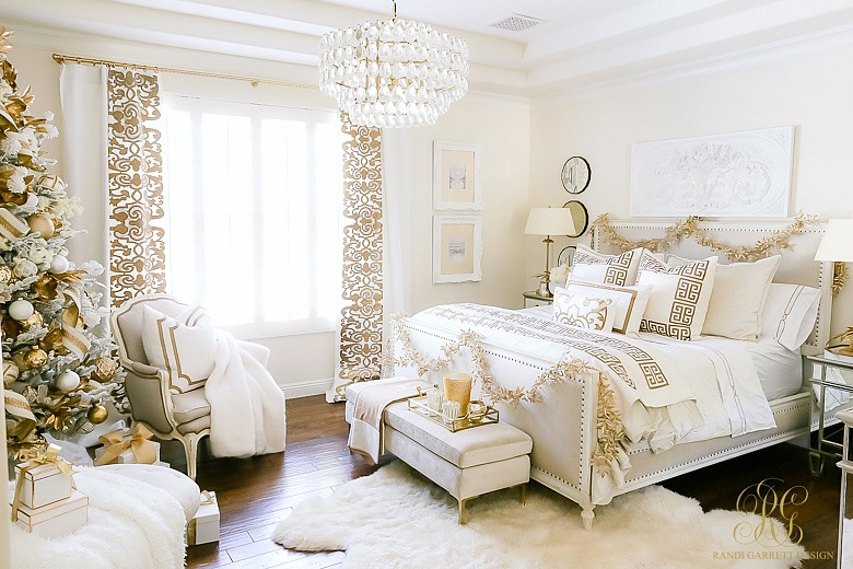 White Festivity bedroom
