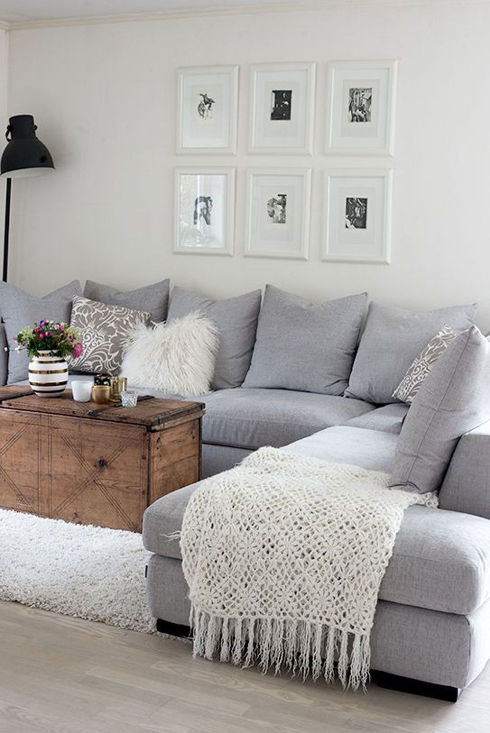 Grey Couch Living Room designs