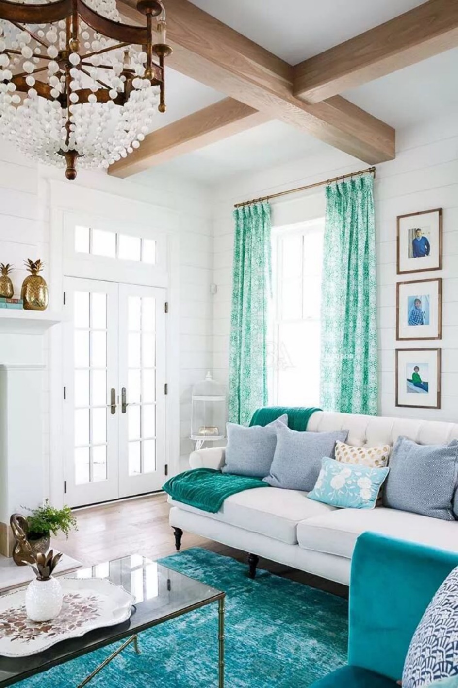 25 Exceptional Teal Living Room Ideas For Your Dramatic Homes