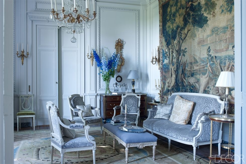 best French Country Living Room