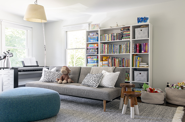 Small Grey Couch Living Room