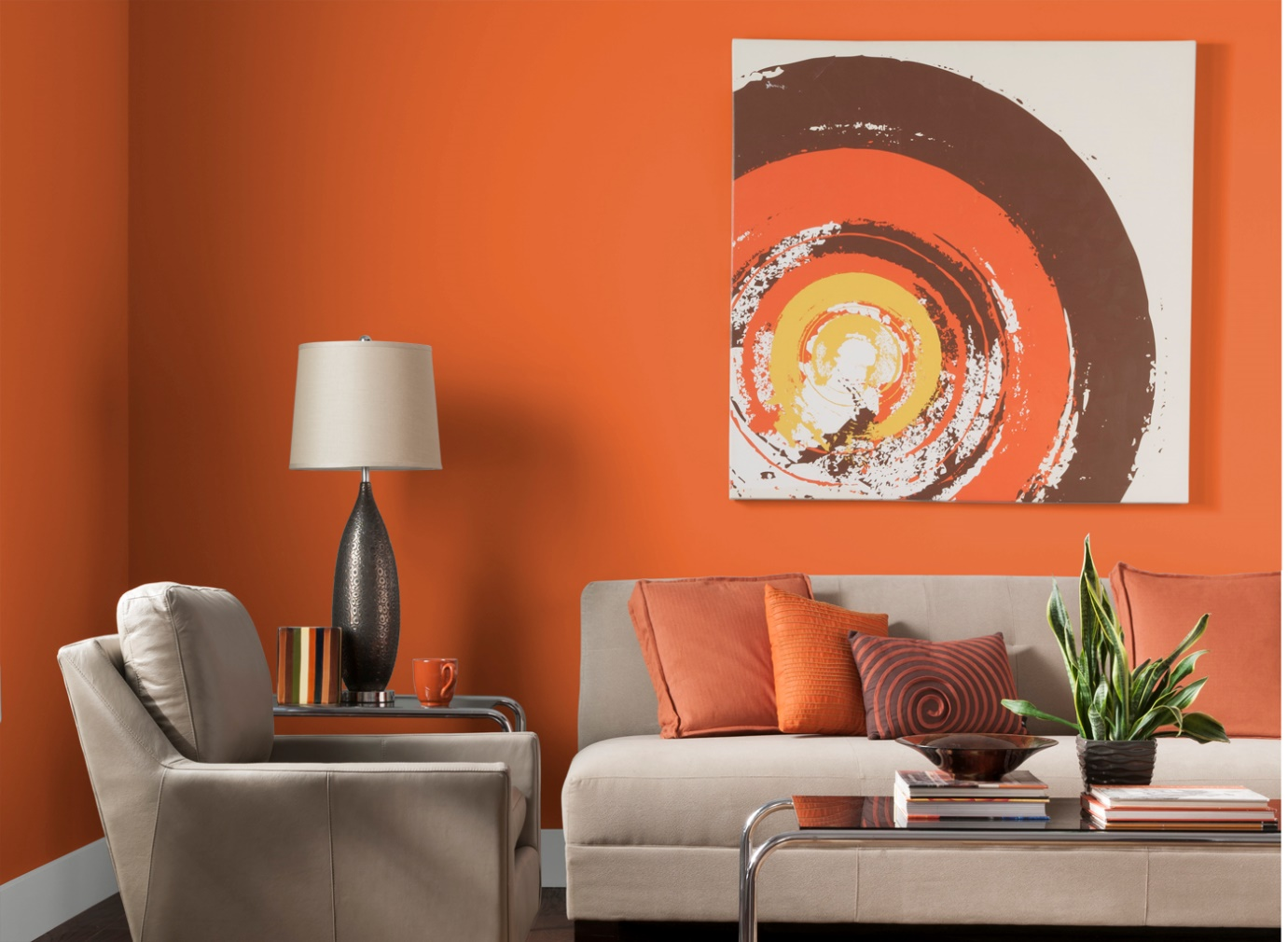 splash of brown for your living room