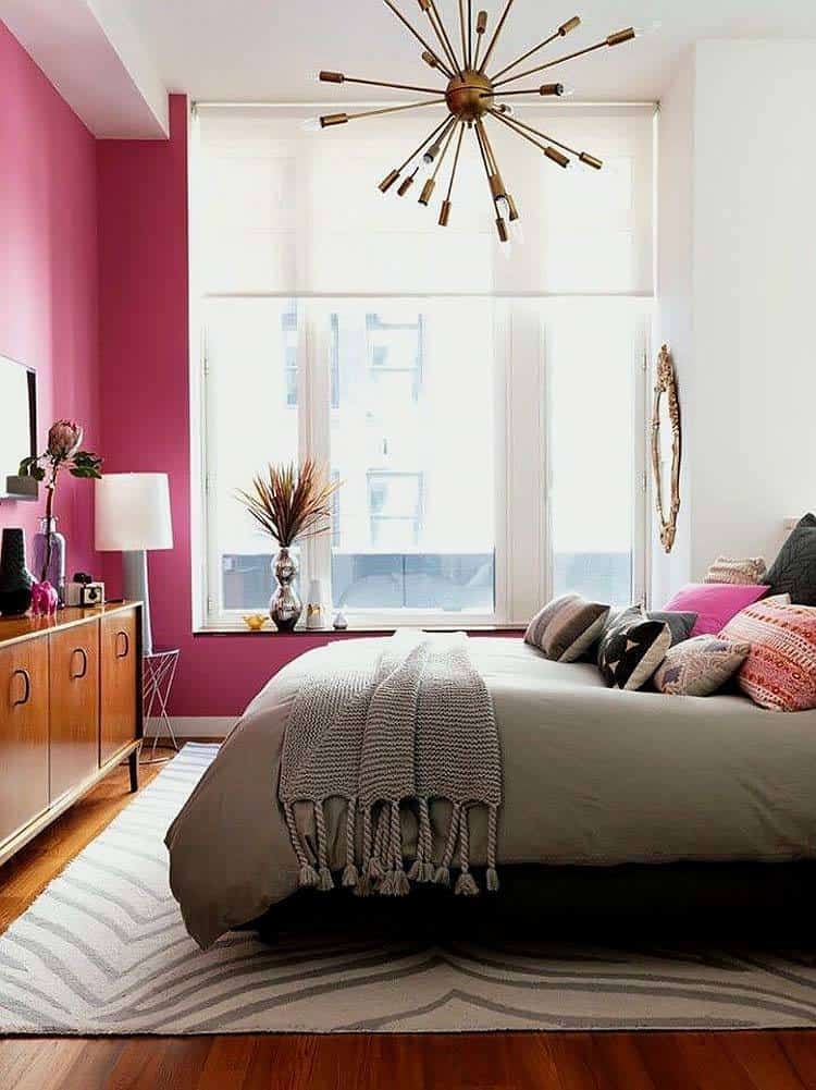 Pink Walls Bedroom Furniture