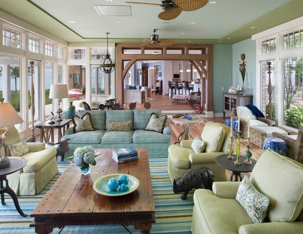 tropical luxurious living rooms