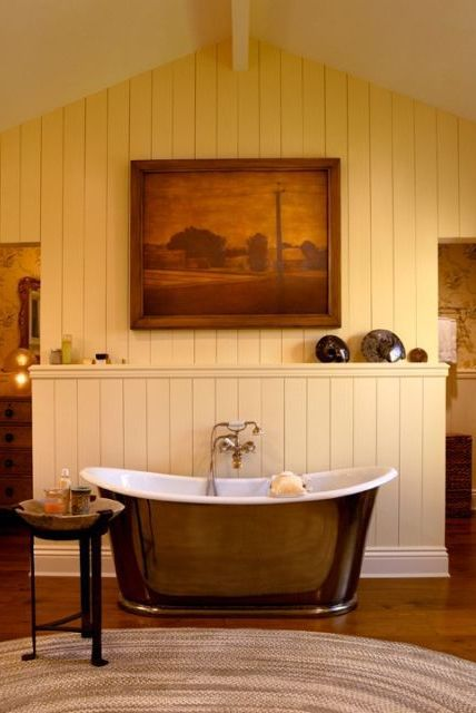 Bathroom with Rustic Touch