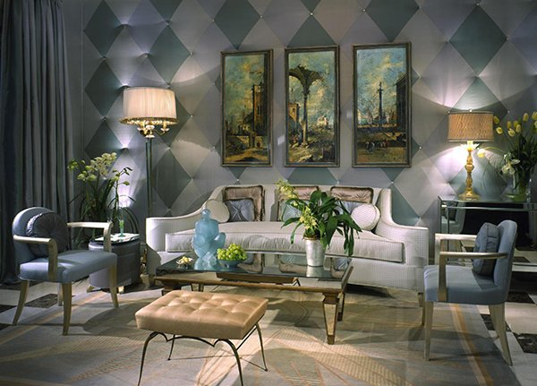 Art Deco Living Room in Luxurious Vibe ideas