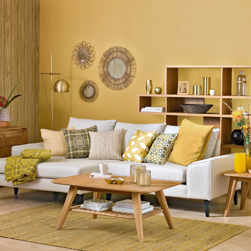 The softest color schemes for living room