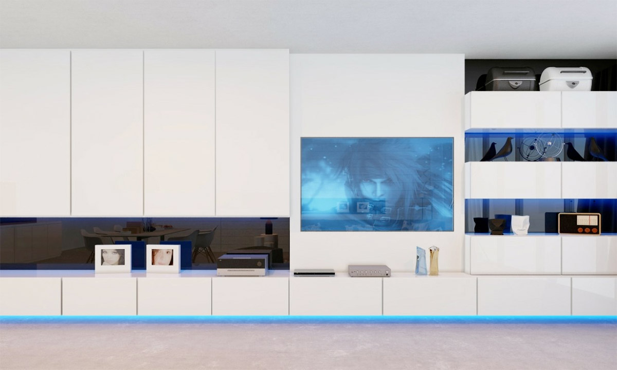 Electric living room