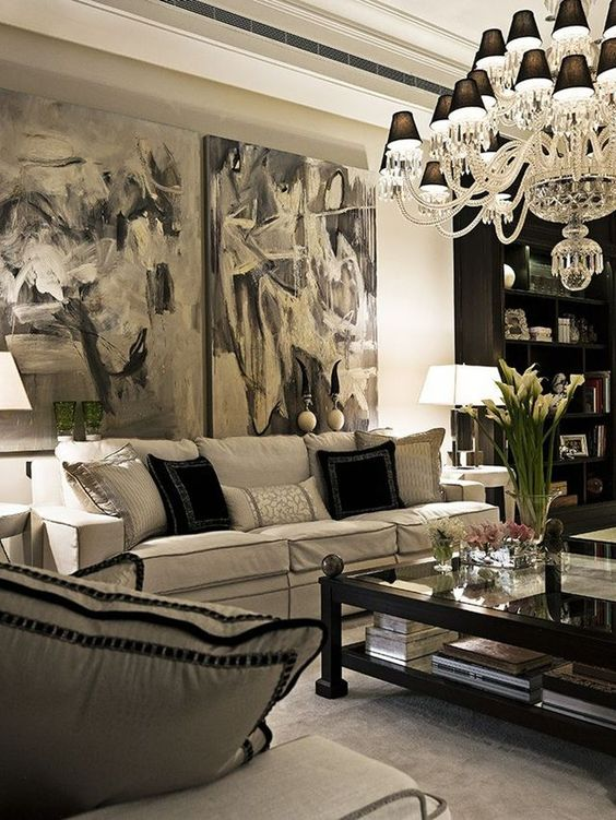 29 Best Traditional And Rustic Glam Living Room On A Budget