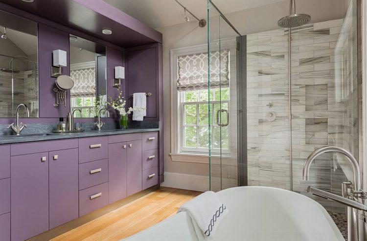 Purple Vanity Set