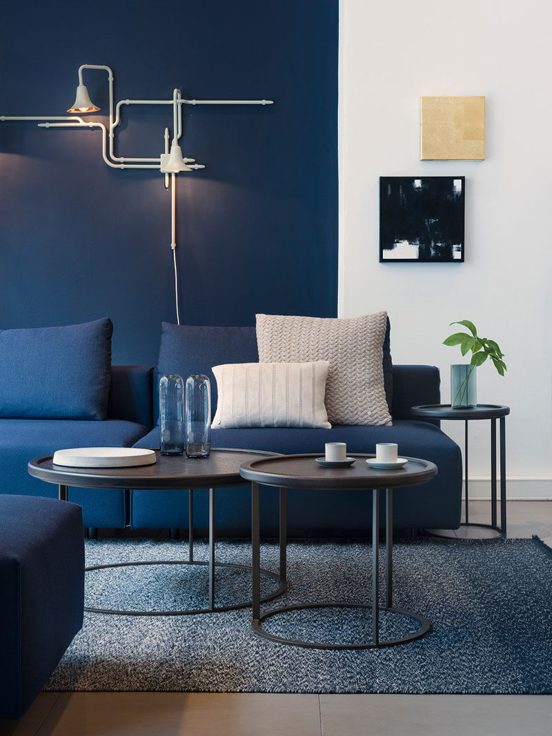 12 Beautiful Blue Navy Living Room Color Scheme Decorating Ideas